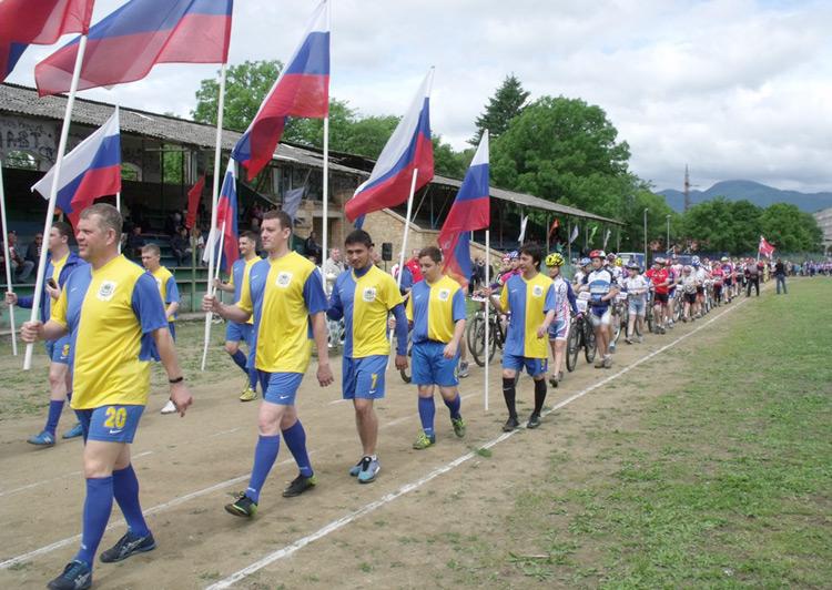 В спортивном фестивале приняли участие более тысячи спортсменов