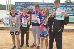 Юные призеры соревнований из сборной Партизанска