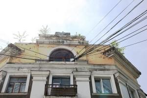 Капитальный ремонт фасада был сделан в 2014 году