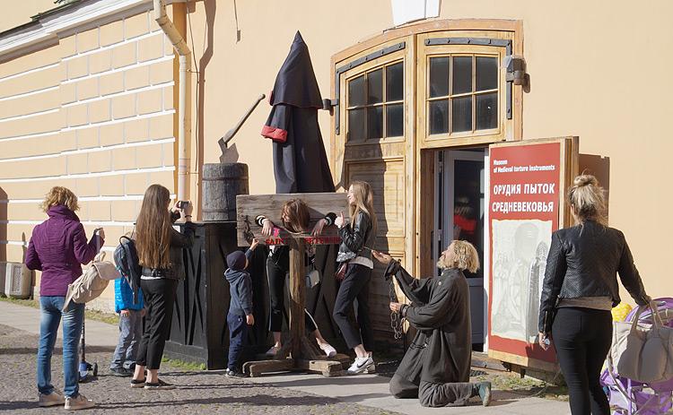 В музеях не только живопись и скульптуры, но и орудия пыток