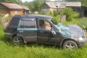 Причина аварии - превышение скорости
