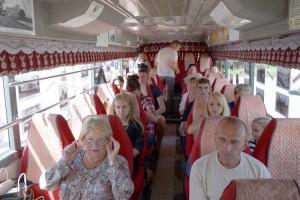 Накануне Дня города «музей на колесах» будет курсировать между Лозовым и «Швейной фабрикой»
