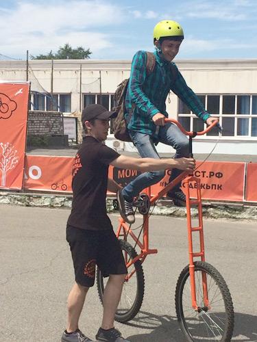 Вот какими бывают велосипеды!
