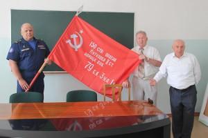 Знамя Победы займет достойное место в классе профработы с допризывниками