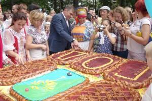 Именинный пирог для партизанцев