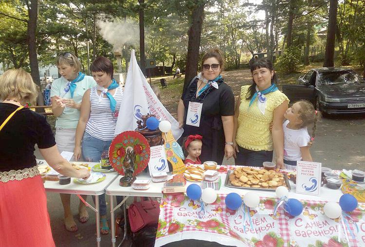 «День варенья» подарили горожанам женщины из общественного движения «Матери России»