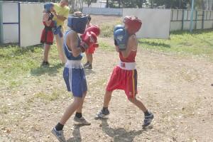 Товарищеский матч юных боксеров