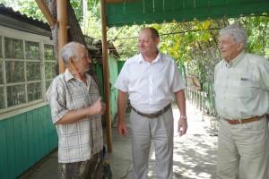 Николай Кодин и Анатолий Погребной в гостях у Алексея Машенцева