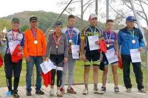 Среди сильнейших в крае - партизанские велосипедисты
