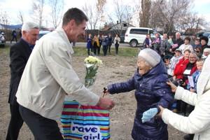 96-летняя Елизавета О Бо Ок - одна из старейших жительниц села Казанка