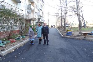 На Тепличной ремонтные работы были проведены с учетом пожеланий жителей