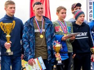 Все спортсмены из Партизанска - с наградами