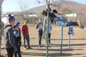 Мастер-класс по воркауту от Ильи Котова