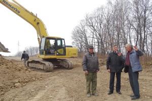 Согласно проекту, здесь будет асфальт и благоустроенная территория