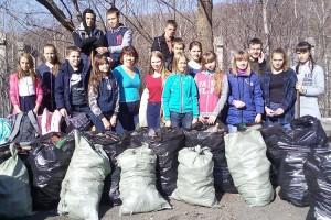 Кубометры мусора и тонны макулатуры собрали участники экомарафона-2017