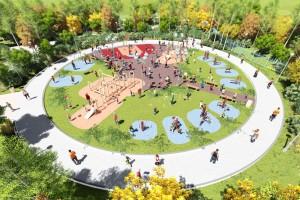 Планы на 2018 год: войти в Программу «Комфортная среда» с целью реконструкции городского парка