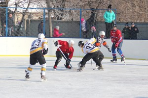 Хоккейные баталии на новой коробке стадиона «Локомотив»