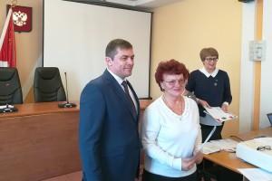 Глава округа поблагодарил партизанцев за трудолюбие и плодотворное сотрудничество
