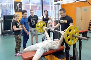 Тренировка с чемпионом мира Владимиром Хан