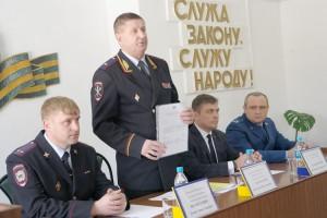 Приказ о назначении начальника ОМВД зачитал лично генерал Николай Афанасьев