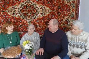 Единственная в Партизанске участница Сталинградской битвы -  Анастасия Корниловна Воронина