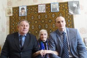 Каждый год 15 февраля Нина Филипповна Разгонова принимает гостей