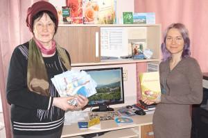 Галина Соколова и члены ЛИТО «Родник» издание своих произведений доверяют печатному салону «Вестей»