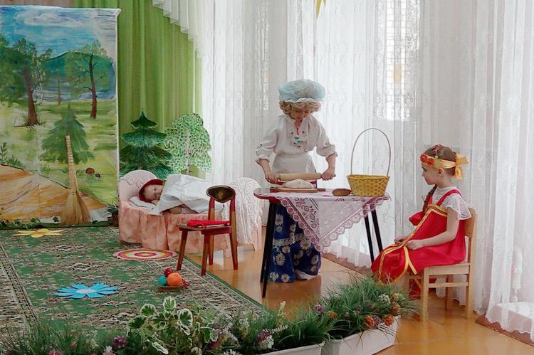 Любимые сказки «ожили» благодаря маленьким актерам