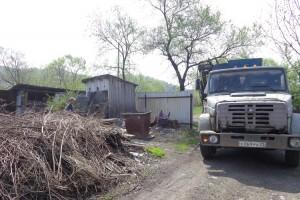 Жителей округа убедительно просят не устраивать новых свалок