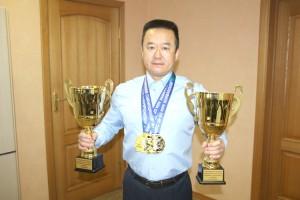Владимир Хан побил свои собственные рекорды
