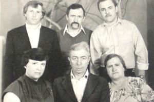 Семья Николая Дуничева