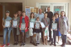 Дипломы и подарки победителям конкурса