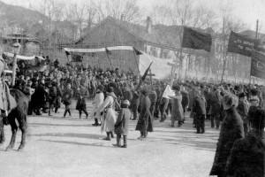 Революционные действия во Владивостоке и на Уссурийской железнодорожной ветке не были допущены  к распространению среди крестьян в Сучанской долине