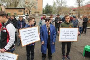 Михаил Андреевич Романенко активно участвует в общественной жизни города