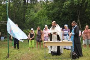 Фестиваль начался с благословения отца Павла
