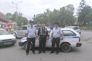Полицейские и дружинник пресекли хищение