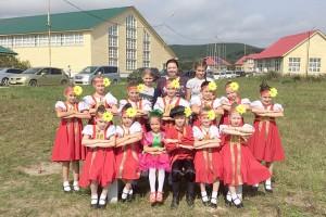 Юные участники конкурса «Танцевальный бриз»