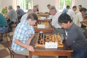 На партизанских турнирах встречаются сильнейшие шахматисты края