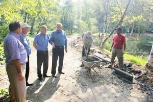 Работы контролируют муниципалитет и общественность