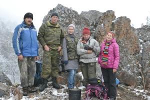 Андрей Костыренко на Читинзу водит туристов и зимой и летом