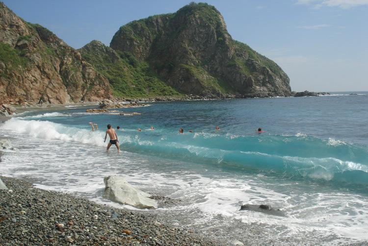 Пляжи Путятина великолепны!