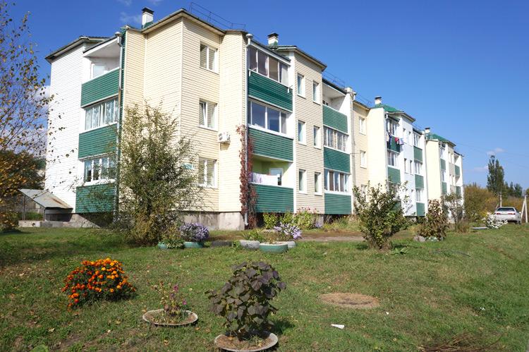 Новый микрорайон вырос на улице Замараева