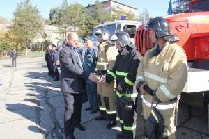 Николай Кодин оценил подготовку звена подсистемы РСЧС на удовлетворительно