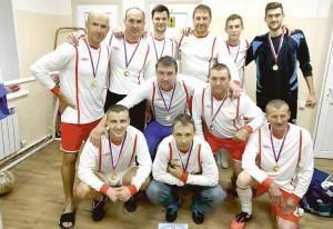 Команда победителей - сборная ветеранов