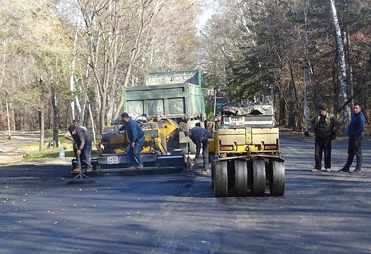 В 2018 году был выполнен первый этап ремонта городского парка