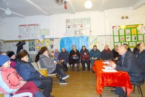 Информационные встречи с населением начались с диалога с мельниковцами