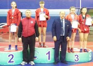 Полина Лысая - чемпионка ДВФО
