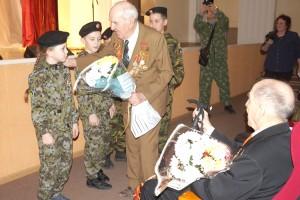 Особая благодарность - ветеранам, напутствия - юному поколению
