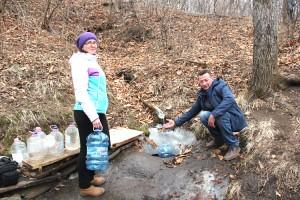 О роднике на 73 участке знают в Партизанске, Находке и Партизанском районе