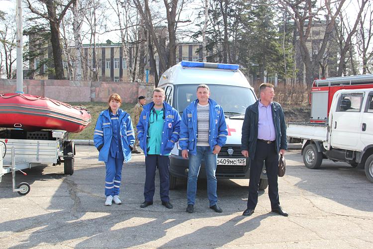 Служба «скорой помощи» - важное звено и на учениях и в реальных условиях